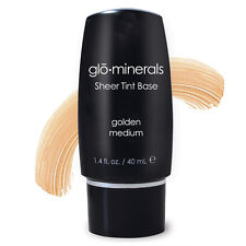 glominerals GloSheer  Sheer Tint Base 1.4 oz / 40 ML New - Golden Medium