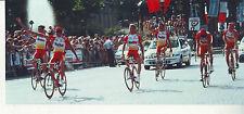 CYCLISME EQUIPE BIG MAT AUBER 93 **TOUR DE FRANCE** PHOTO 22 x 10 CM QUALITE PRO
