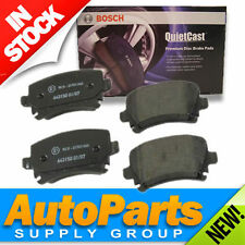 VW/Audi Rear Disc Brake Pads Set Genuine BOSCH QuietCast OEM Compound 2006-2012