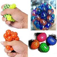 5cm Squishy Mesh Ball Stress Relief Hand Fidget Sensory Autism ADHD kids Toys