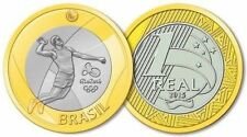 Universel coin-Jeux Olympiques 2016 Rio 1 Real Brésil-Volley-ball-UNC