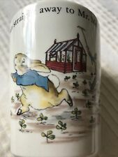 Wedgwood Juice Cup Beatrix Potter Peter Rabbit English China Children