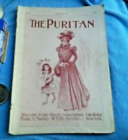 Feb. 1898 THE PURITAN MAGAZINE - GREAT ILLUSTRATIONS- Hellen Keller