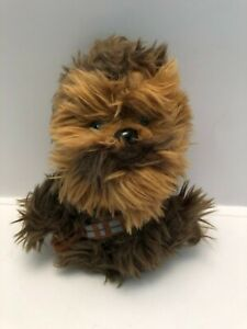 "Disney Star Wars Chewbacca Plush Soft Stuffed Doll 6"""