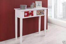 Mesas de color principal blanco de pino para el hogar