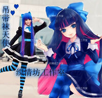 Panty Stocking with Garterbelt Cosplay Stocking·Anarchy Maid Dress Costume New