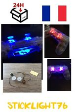 joystick led thumbstick ps4 playstation manette controller 7mods couleur