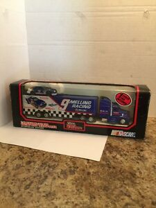 Nascar Billy Elliot Racing Team Transporter With One Stock Car Included