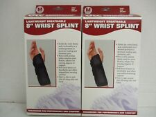 "2 OTC LIGHTWEIGHT BREATHABLE 8"" WRIST SPLINT #2083 - MEDIUM RIGHT - NT 932"
