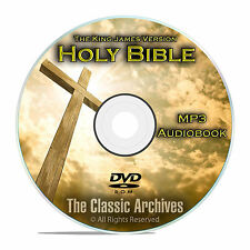 The Authorized King James Bible on MP3 Audiobook, KVJ, The Holy Bible CD DVD F24