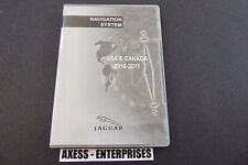 Jaguar XF XK XKR Navigation DVD Set # 898-BG Map © 2010 Edition 2011 US & Canada