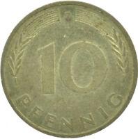 COIN / GERMANY / 10 PFENNIG 1980  #WT16699