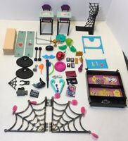 Monster High Playset Doll Furniture Accessories Lot