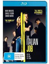The Italian Job - 2003 - Mark Wahlberg (Blu-ray) NEVER PLAYED & SEALED