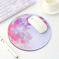 Round Mouse Pad Planet Series Mat Computer Peripherals Accessory Desktop Nonslip