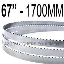 "Butchers Meat Bandsaw Blades (5 Pack). 67"" (1700mm) X 5/8"" X 4tpi"