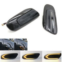 2 x Dynamic LED Flowing Side Marker Light Turn Signal Indicator for MINI Cooper