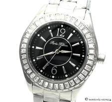 PARIS HILTON UHR ARMBANDUHR Lady Watch für for IT Girl Edelstahl silber PH11558M