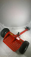 Velky VKX2-3R Velke Sulky  Red Walkbehind ride/stand attachment
