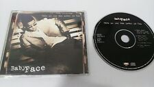 Baby Face This Is For The Lover IN You Maxi Single CD 4 Titres Mega Rare