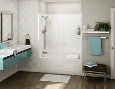 "Maax 60"" x 32"" x 79"" Allia Ts-6032 One-Piece Acrylic Tub-Shower Unit 107001"