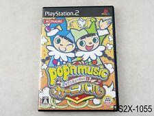 Pop'n Music 13 Carnival Playstation 2 Japanese Import JP Japan PS2 US Seller B