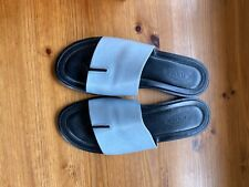 Tods Blue Sliders Size 5 Blue