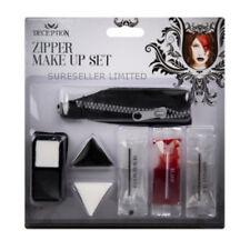 Zipper Kit Halloween Sang Gore Zombie Make Up Halloween Horreur Plaies