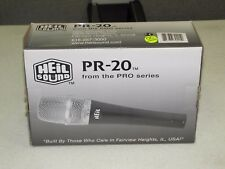 Heil Sound Pr20 Cardioid Dynamic Professional Handheld Studio Microphone *New*