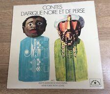 LP 25cm Contes d'Afrique noire et de Perse Linette Lemercier Georges Aminel