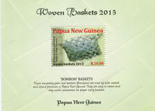 Papua New Guinea 2013 - Woven Baskets Stamp - Souvenir sheet - Mnh