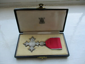 MBE Medal  Member - Order Of The British Empire - Royal Mint Box 1948