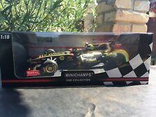 1:18 Minichamps Lotus Renault  GP 150110079 N.Heidfeld 2011 Showcar, Rare 504pcs