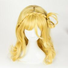 Love Live! Sunshine!! Aqours Ohara Mari Wig Yellow Mixed Short Cosplay wig + Cap