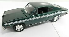 ERTL Road Legends Die Cast 1969 Plymouth Barracuda Green 1:18 Scale 92178