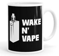 Wake N' Vape Funny Slogan Mug Tea Cup Coffee