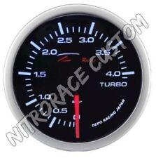 DEPO RACING  – MANOMETRO TURBO  0-4 Bar  (WS-MW5201B-0-4BAR)