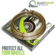 """ALLOYGATOR WHEEL RIM PROTECTION SET OF 4 FITTED PRICE DY5 1UA 13"""" - 21"""" GOLD"""