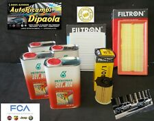 KIT TAGLIANDO FIAT 500 PANDA 0.9 TWINAIR NATURAL POWER 4L SELENIA DIGITEK FILTRI