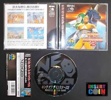 JUEGO NEO GEO CD KING OF THE MONSTERS   SNK NEO GEO AES