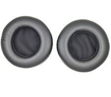 Black leather Ear pads earpad cushion for SteelSeries Siberia Neckband Headset