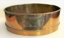 """New listing Vtg Large Ws Tyler Company Usa Standard Series Brass 12 1/2"""" Test Sieve no. 8"""