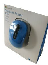Genuine Microsoft Bluetooth Mobile 3600 Wireless Mouse Blue