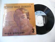 "NILO OSSANI""CANZONI SENZA TRAMONTO 3- DISCO 45 GIRI EP(4 BRANI) MEAZZI 1957"""
