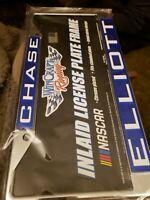 CHASE ELLIOTT 9 2020 NASCAR CUP SERIES CHAMPION LICENSE PLATE FRAME CHROME METAL