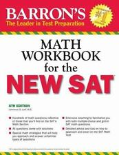 Barron's Math Workbook for the New SAT by Lawrence S. Leff (2016, Paperback,...