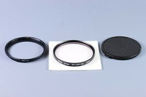 Hoya 67mm skylight (1B) Filter with adapter ring and cap for Hasselblad