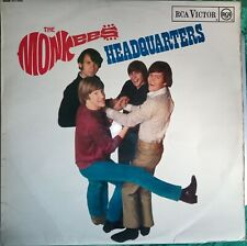 MONKEES - Headquarters - LP - VERY GOOD CONDITION