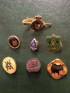 Badges Australian sport military etc