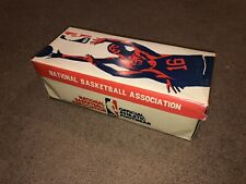 Vintage Official NBA Basketball shoe box ONLY 1970s 4932 Tobacco Leather Striper